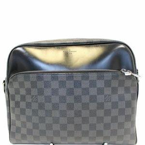 LOUIS VUITTON Dayton PM Graphite Shoulder Bag